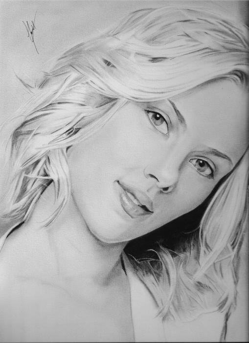 Scarlett Johansson por dnieltsk
